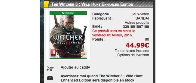 Магазины объявили дату релиза The Witcher 3 Enhanced Edition - Изображение 2