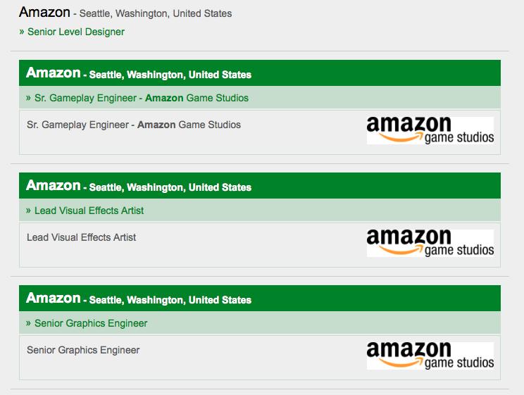Amazon делает большую PC-игру: срочно требуются художники и инженеры - Изображение 1