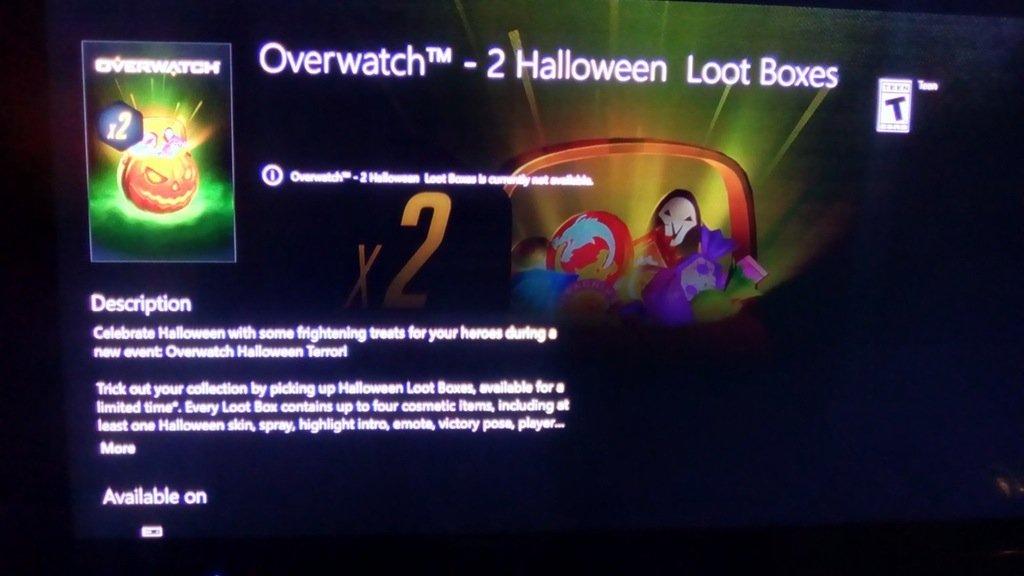 Слух: в Overwatch скоро появятся хэллоуинские ящики - Изображение 1