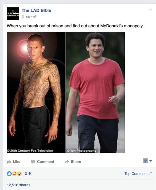 Актер из «Побега» был толстяком и думал о самоубийстве - Изображение 1