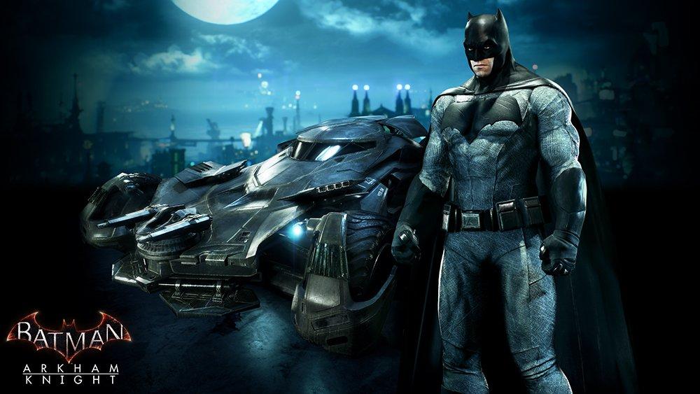 Новый Бэтмобиль для Batman: Arkham Knight стал бесплатным в PSN и XBL - Изображение 1
