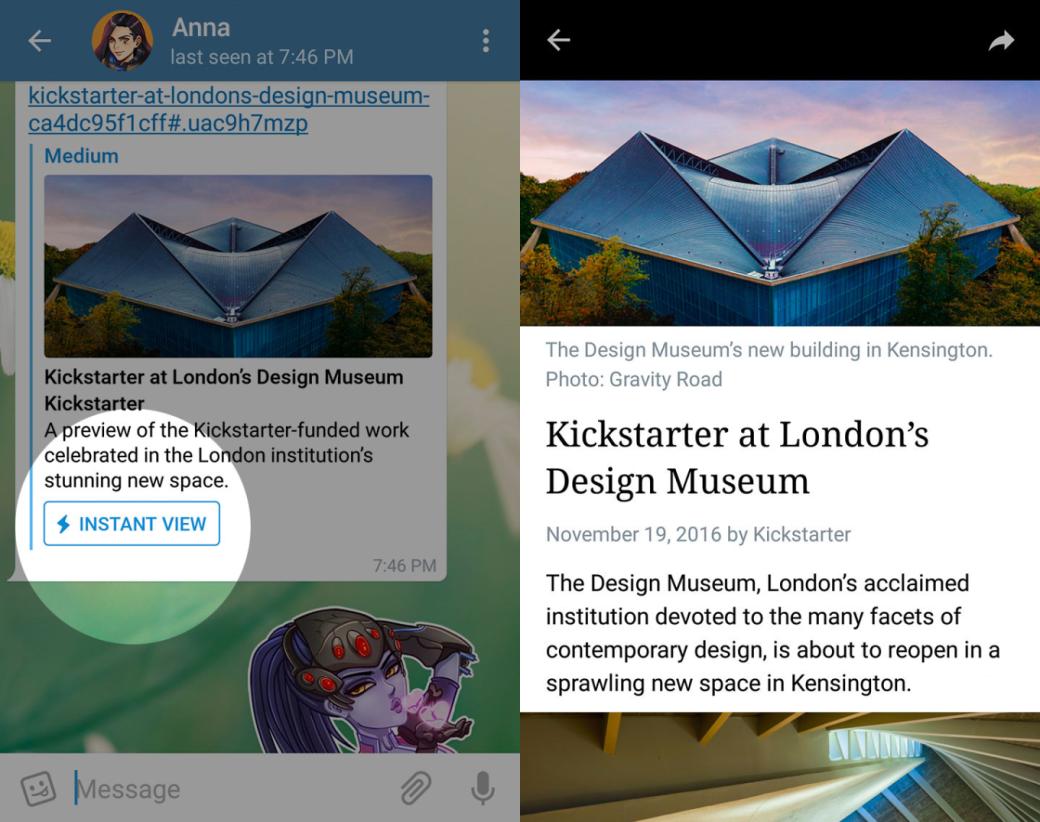 Telegram запустил платформу для создания публикаций Telegraph. - Изображение 2