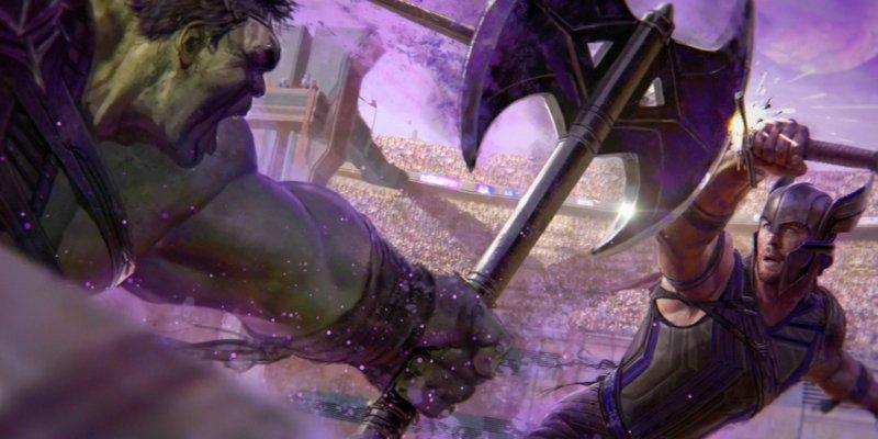 Новый арт драки Халка и Тора из «Рагнарека»: угадайте источник? - Изображение 3