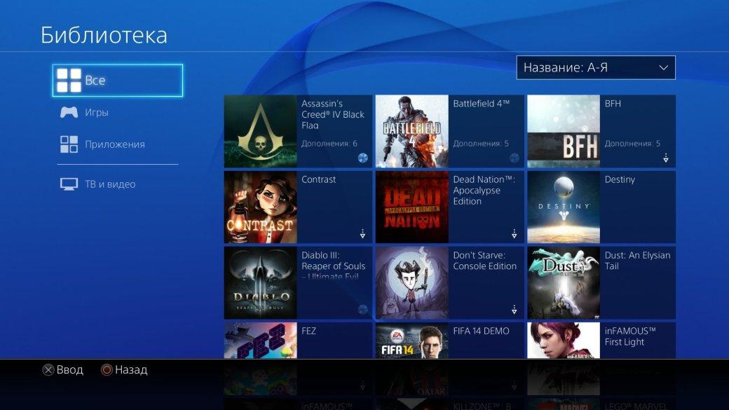 PS4 год спустя: что изменилось в прошивке 2.0 [обновляется] - Изображение 7