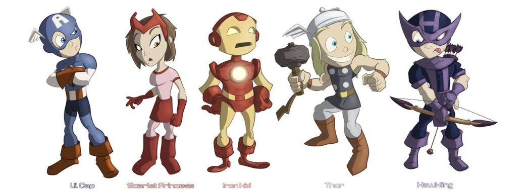 Галерея вариаций: Мстители-женщины, Мстители-дети... - Изображение 69