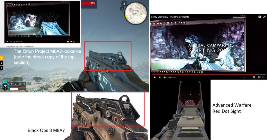 Разработчик Orion признался в воровстве оружия у Call of Duty - Изображение 1