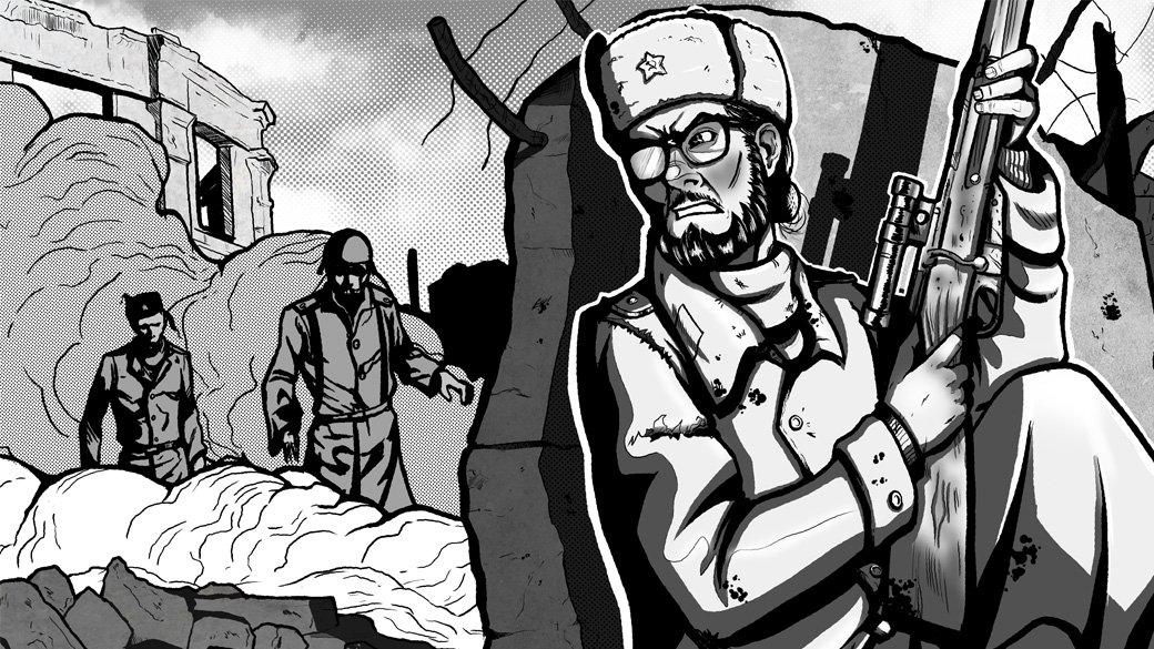 Автор комикса о зомби в Сталинграде: «Россия и США невероятно близки» - Изображение 1
