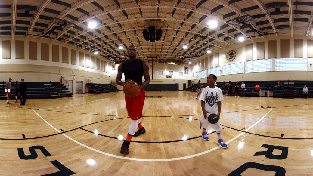 Oculus VR научит играть в баскетбол как Леброн Джеймс. - Изображение 1