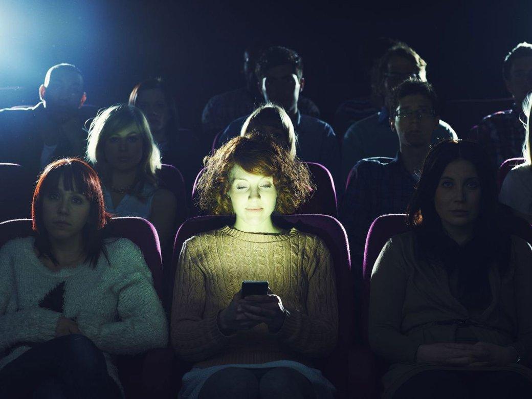 В американских кинотеатрах разрешат пользоваться телефонами - Изображение 1