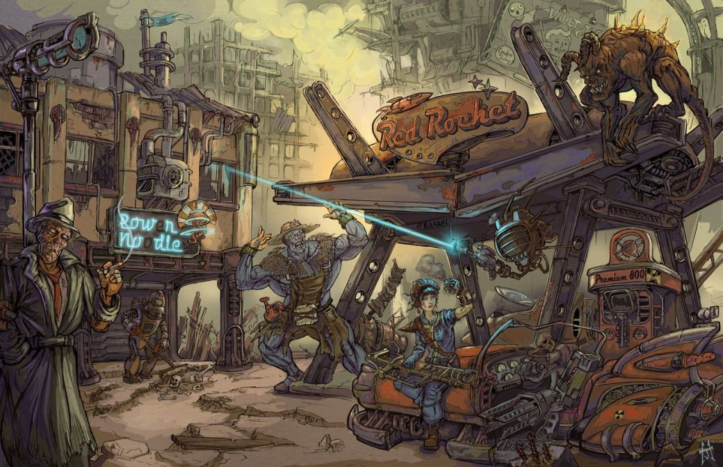 Лучший арт мира Fallout - Изображение 99