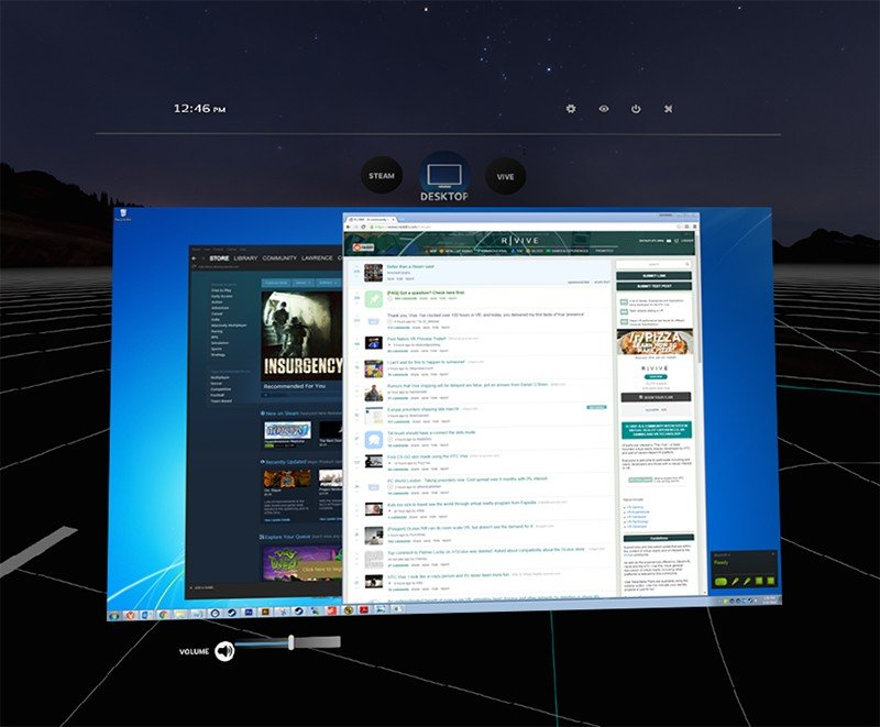 SteamVR воссоздаст экран вашего монитора в виртуальной реальности - Изображение 1