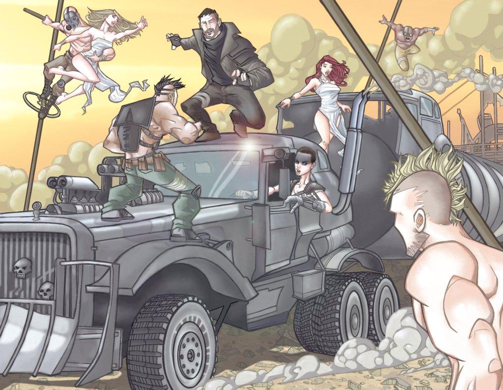 Галерея машин, кадров и постеров к «Безумному Максу: Дорога Ярости» - Изображение 85