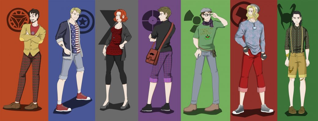 Галерея вариаций: Мстители-женщины, Мстители-дети... - Изображение 189