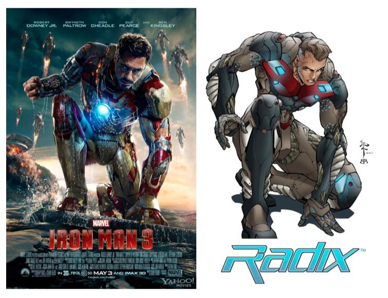 На Marvel подали в суд за воровство арта к «Железному человеку 3» - Изображение 1