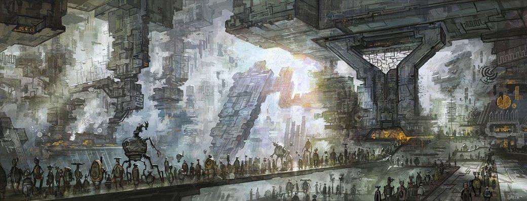 Орки и звездолеты: лучший арт художника «Войн клонов» - Изображение 10