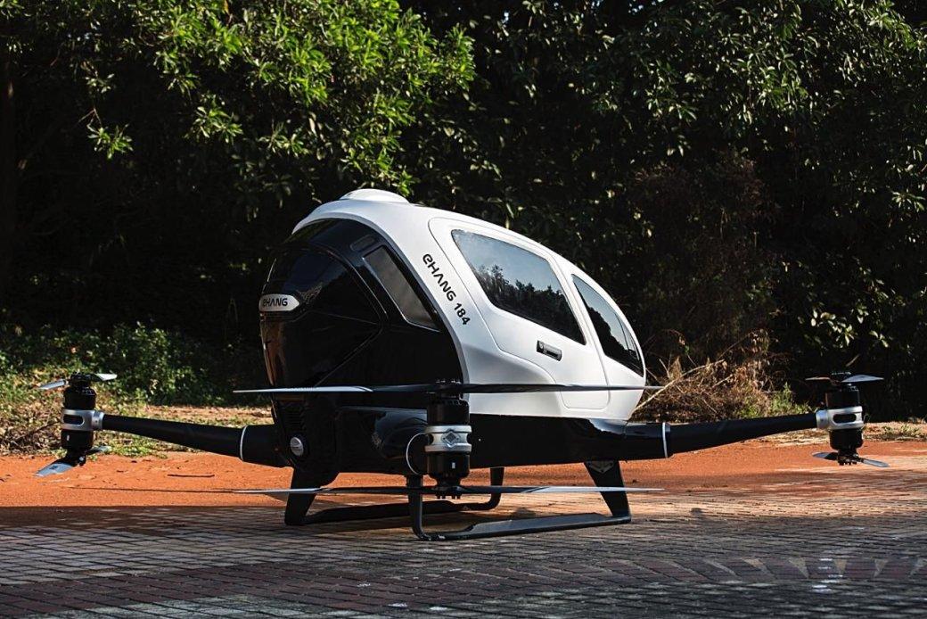 Создан дрон, способный отвезти человека на работу или в магазин - Изображение 1