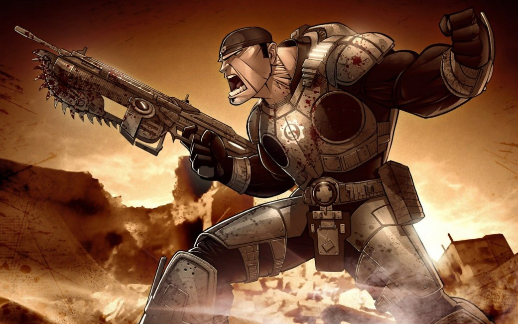 [Анонс] Прямая трансляция Gears of War: Ultimate Edition в 21:00 (МСК) - Изображение 1