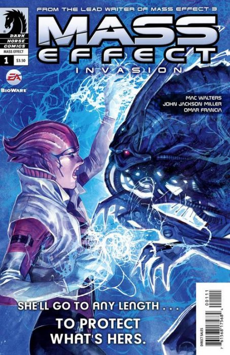 Шесть комиксов, чтобы настроиться на запуск Mass Effect 3 - Изображение 1