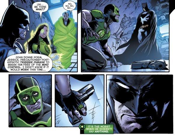 Зеленому фонарю больше не нужен пистолет, и все благодаря Бэтмену. - Изображение 2