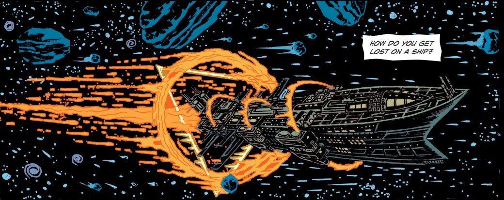 Самые жуткие комиксы про космос, которые вы только можете представить. - Изображение 6