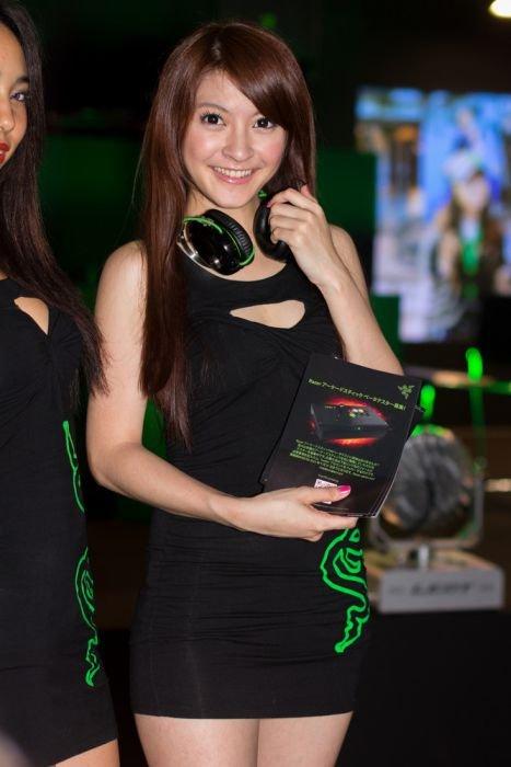 Девушки с Asia Game Show 2012 - Изображение 5