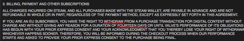 [Обновлено] Steam не будет возвращать деньги европейцам - Изображение 2