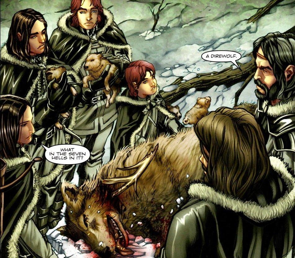 5 комиксов, похожих на«Игру престолов». - Изображение 2