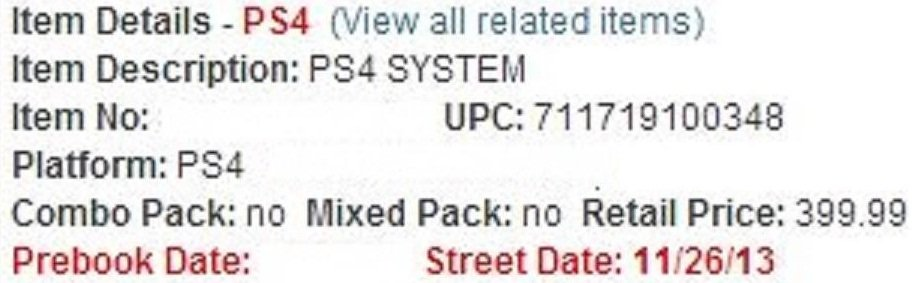 Стала известна дата релиза PlayStation 4. - Изображение 1