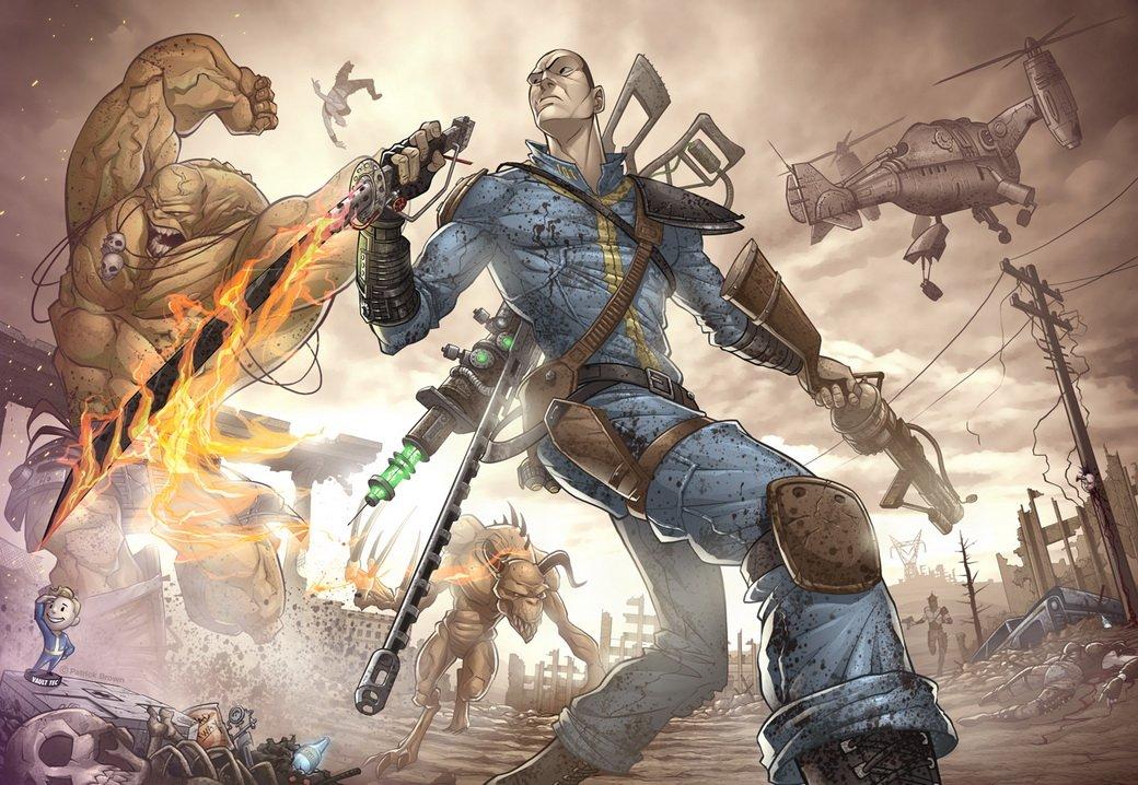 Лучший арт мира Fallout - Изображение 69