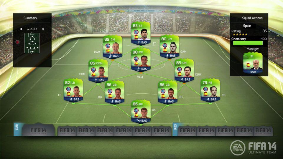Режим Ultimate Team в FIFA 14 обновят к чемпионату мира - Изображение 1