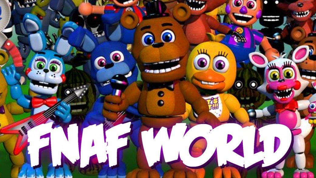 «Красочная RPG» Five Nights at Freddy's World выйдет в феврале - Изображение 1