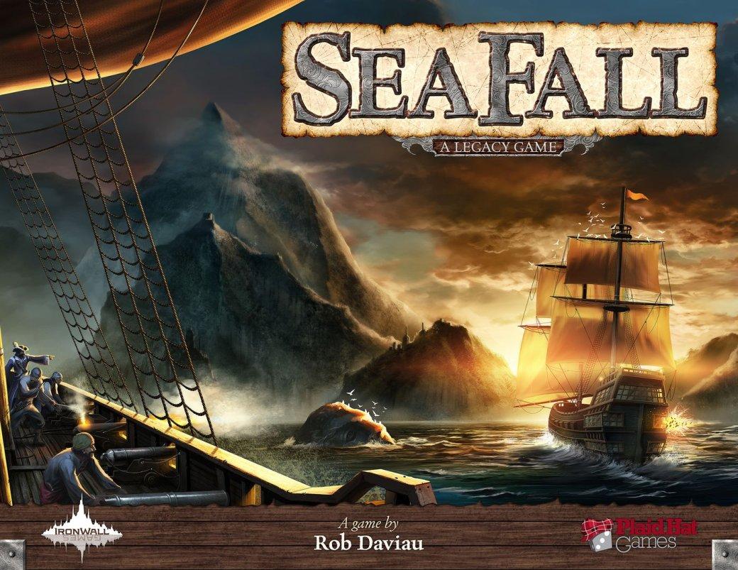 SeaFall —настольный гибрид интерактивной книги и пиратской стратегии - Изображение 2