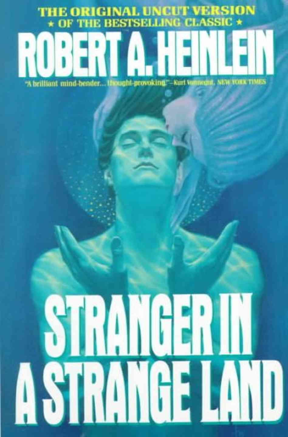 an analysis of the novel strange by robert a heinleins Stranger in a strange land is one of the after robert heinlein's death in 1988 the novel was a unique glimpse of both heinleins.