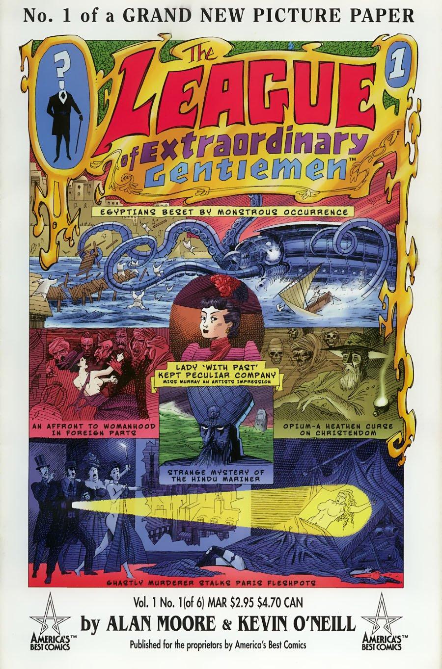 Киноребут LXG — повод перечитать гениальную серию комиксов Алана Мура - Изображение 1