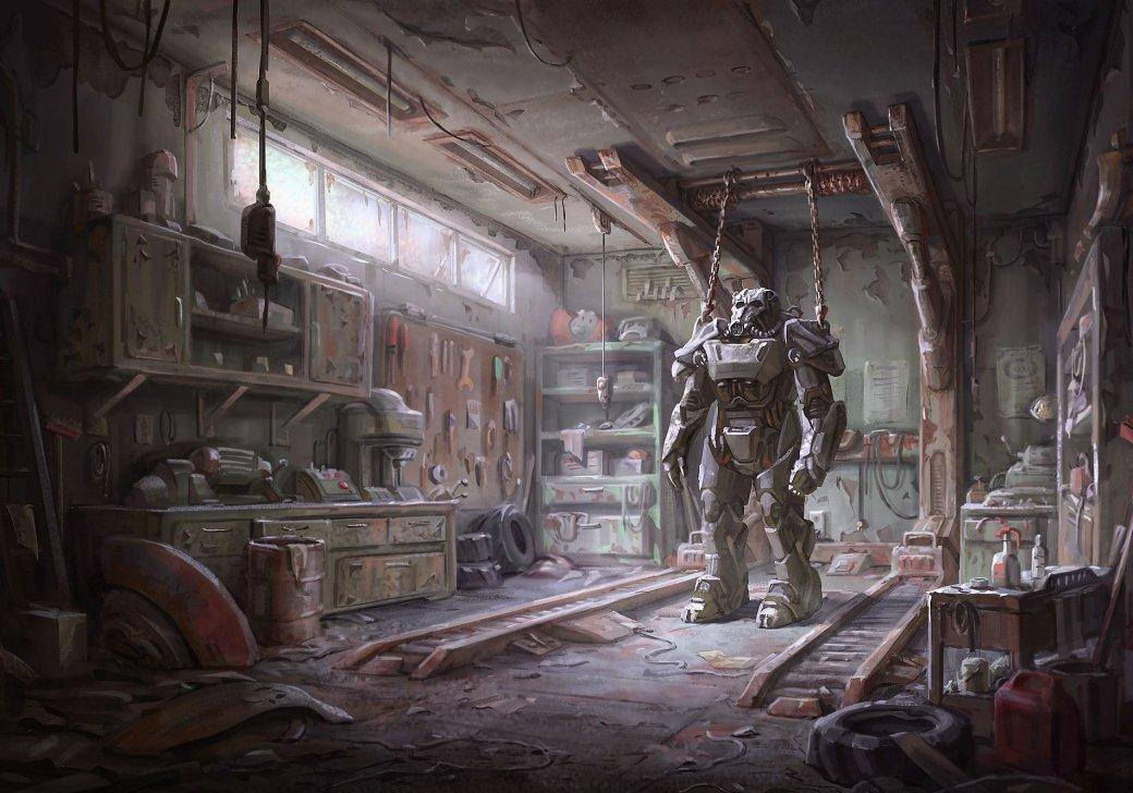 Женщина, собака и пулемет на борту в новом арте и скринах Fallout 4 - Изображение 4