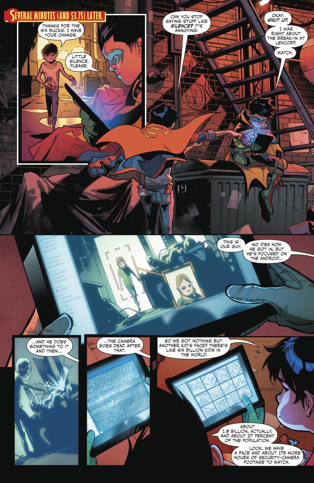 Супербой и Робин столкнулись со своим первым суперзлодеем - Изображение 2