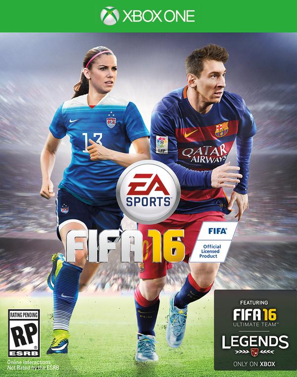 Победа: Алекс Морган украсит обложку FIFA 16 - Изображение 1
