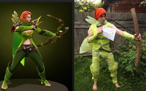 Самые смешные фанатские костюмы по игре DotA 2 - Изображение 7