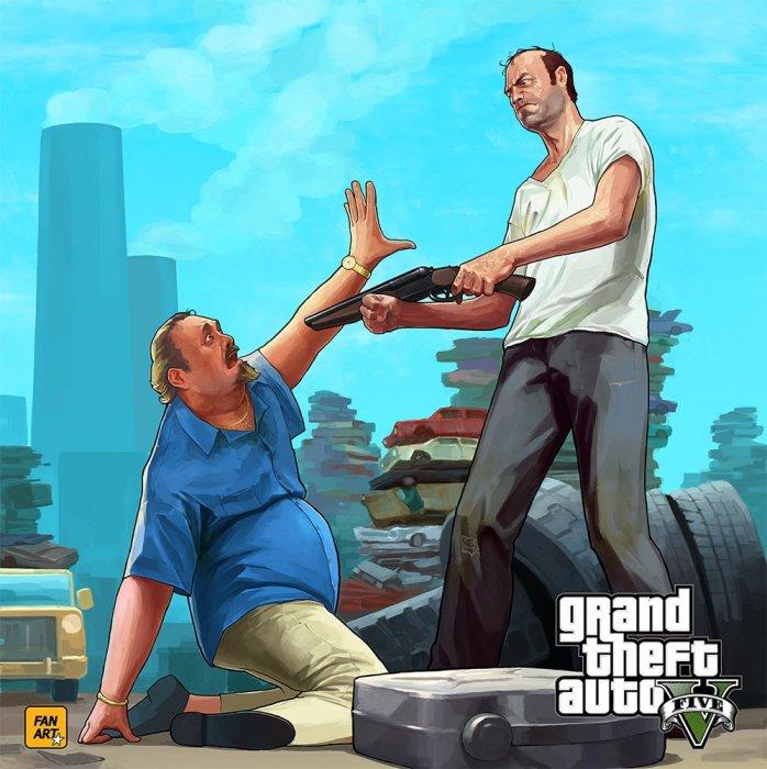 Crossword Game: Проверь себя в Grand Theft Auto - Изображение 1
