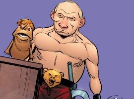 Впародии наКонана-Варвара появились Путин-оборотень икукла-Дональд Трамп