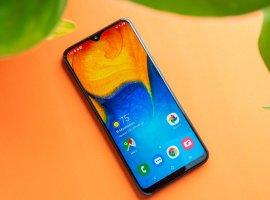 ВРоссии вышел бюджетный камерофон Samsung Galaxy A20s