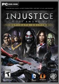 Injustice: Gods Among Us - Ultimate Edition – фото обложки игры