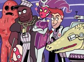 Мультивселенная «Рика иМорти» расширяется: ждите комикс про супергероев Vindicators