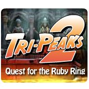 Tri-Peaks 2: Quest for the Ruby Ring – фото обложки игры
