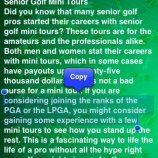Скриншот All About Golf For Seniors – Изображение 3