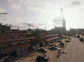 Недостроенные многоэтажки и промзона. Авторы PUBG показали новые скриншоты пустынной карты