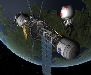 Гифка дня: трудности освоения космоса напримере Kerbal Space Program