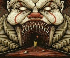 Пощадите! Отбезумно страшного аниматроника-Пеннивайза можно иседым стать!