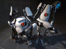 В Portal 2 наконец можно играть вдвоем без двух геймпадов