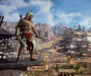 Гифка дня: главная угроза ассасинам вAssassin's Creed: Origins